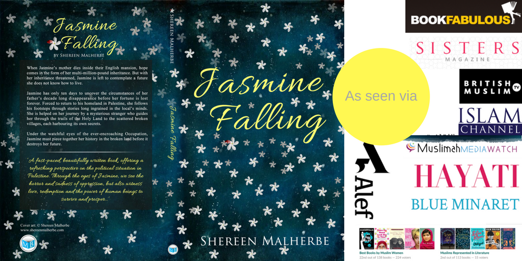 Book Tour: Jasmine Falling author returns to Palestine, December 2017
