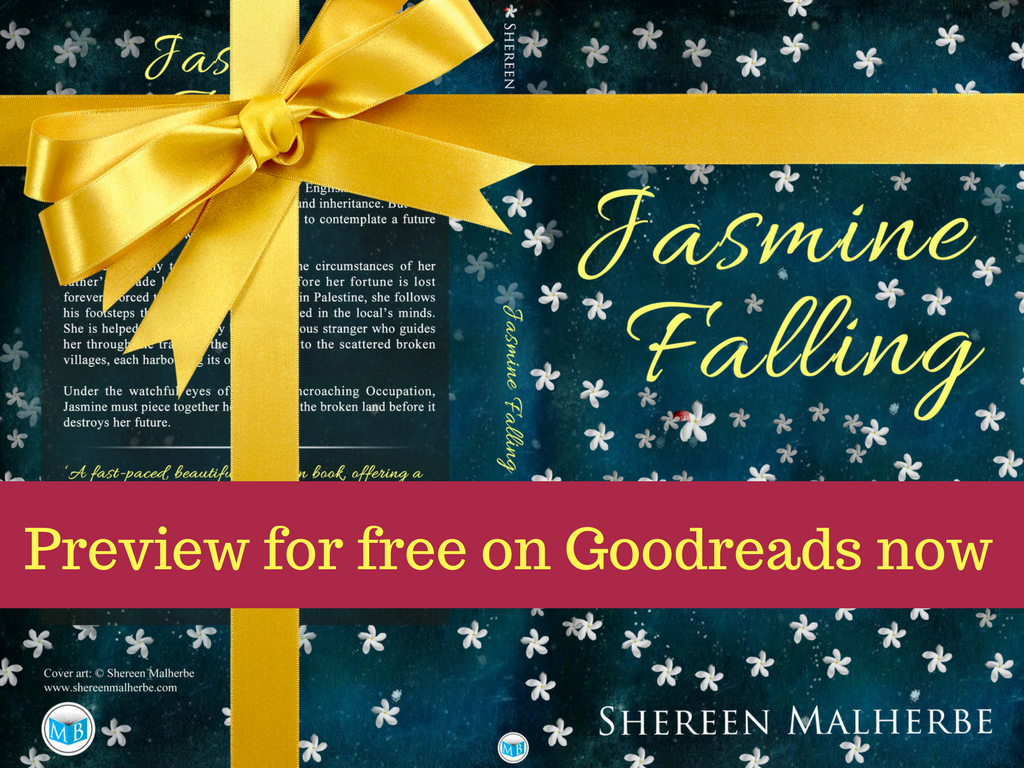 Preview Jasmine Falling via Goodreads