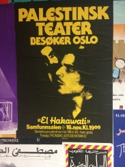 Poster image from inside Theatre